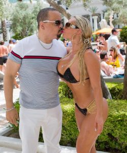 Ice T and Coco at Ice-T & Coco at Venus Pool Club at Caesars Palace in Las Vegas
